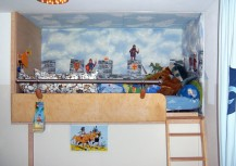 Vollholz Hochbetten maßgefertigt aus Berlin, Hochetagen, Etagenbetten, Spieletagen, Schlafebenen, bauen, Kinderbetten, Galerien, Hochbettleitern, Kita Einrichtungen, preiswert, günstig   (37)