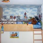 Hochbetten bauen, Hochetagen, Hochebenen, Kinderbetten, Galerien, maßgefertigt, Berlin, Schaukeln, Vollholzhochbetten