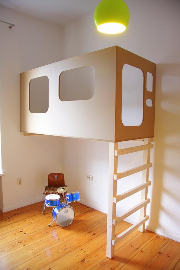 Kinderhochbett design  Hochbett Berlin,Maßgefertigte Betten, Sonderanfertigungen ...