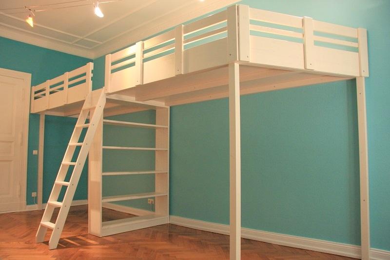 Etagenbett Für Zwei : Kinderzimmer für zwei kinder mit kompakten etagenbetten einrichten