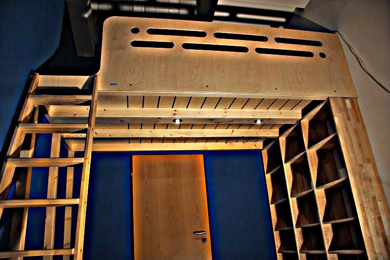 Hochbetten & Hochetagen made in Berlin, Hochbett Berlin, Menke Bett, Maß gefertigte Loft Betten Loft Beds, Kinder Hochbetten, Erwachsenen Hochbetten, Design Betten, Design Bed (30)